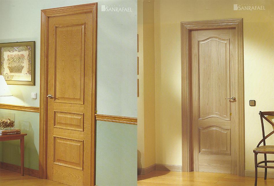 Puertas de interior lacadas alta seguridad parquet y - Puertas de interior lacadas en blanco precios ...