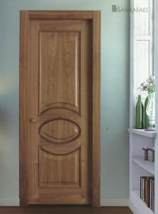 Puerta Clasica Modelo 2030X Nogal