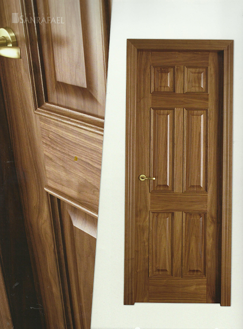 Puerta Clasica Modelo 460X Nogal