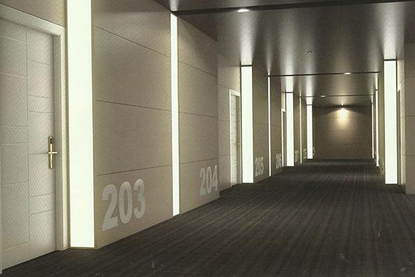 Puerta acústica RF Lacada 941