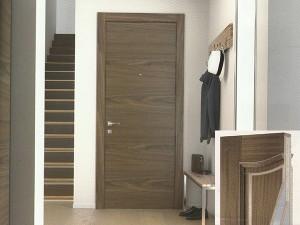 Puerta blindada serie Lisa L62 detalle