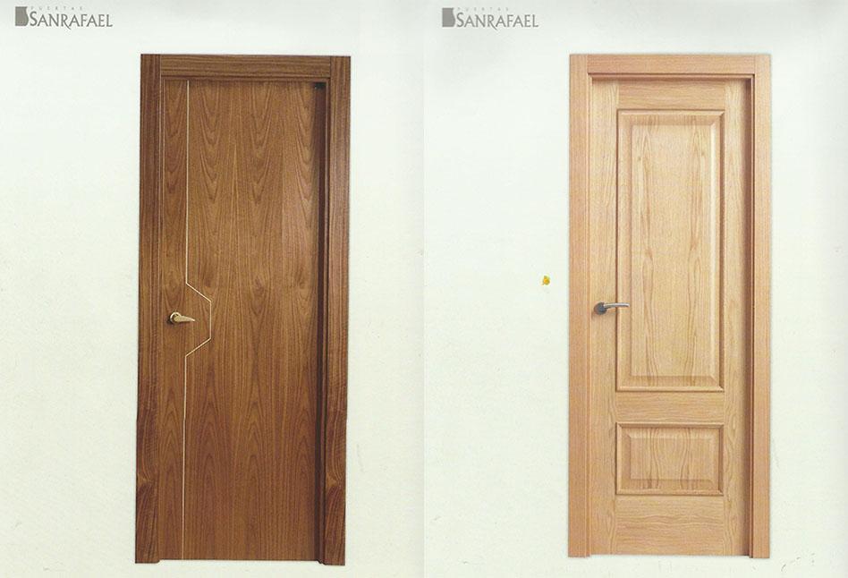 Puertas de interior lacadas alta seguridad parquet y - Precios de puertas lacadas en blanco ...