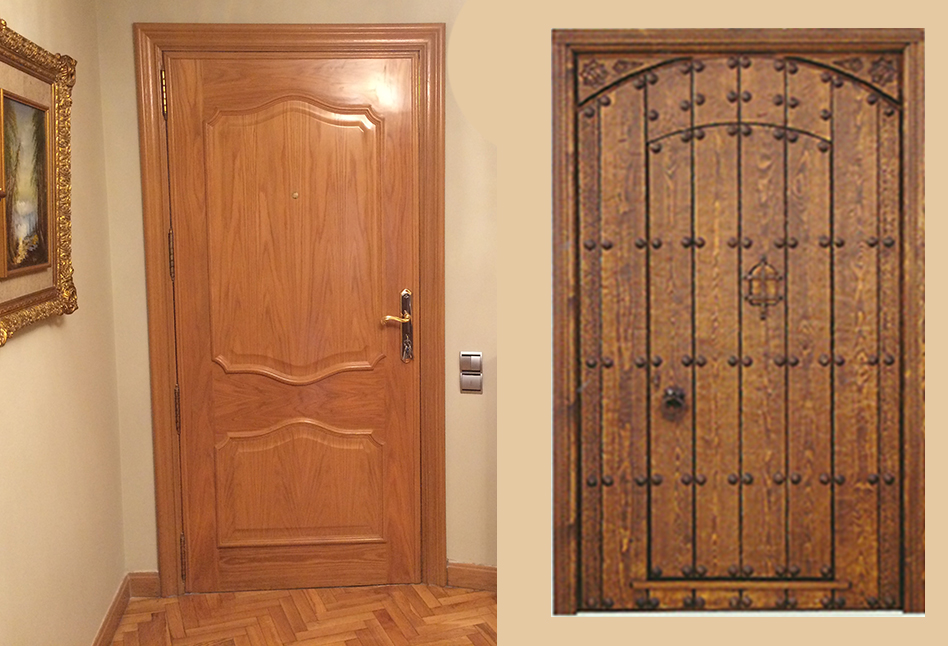 puertas de interior lacadas alta seguridad parquet y