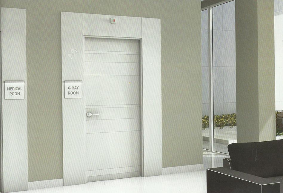 Puertas de interior lacadas alta seguridad parquet y - Mirillas para puertas precio ...
