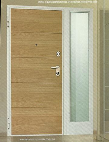 puerta acorazada grado 3