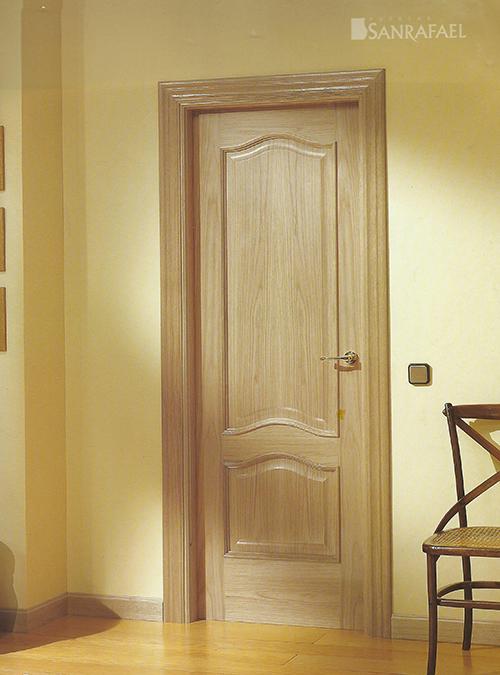 Puerta clásica modelo 253X roble