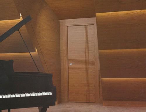 Puerta acústica Líneas 758